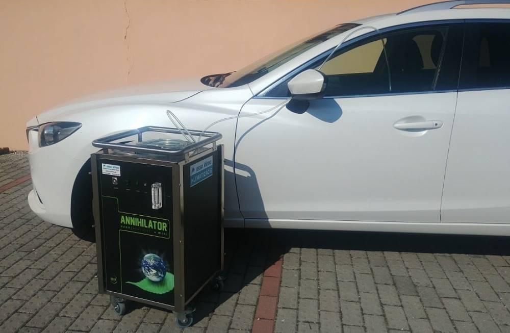 Dezinfekcia auta ozónom